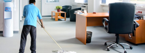تمیز کردن اتاق کار